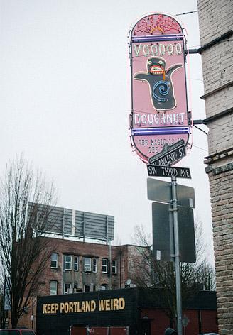 """""""Keep Portland Weird"""" sign"""