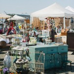 Antique fair vendors