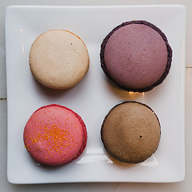 Macaroons from Pamplemousse Patisserie et Cafe in Redwood City, CA