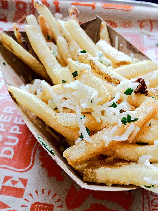 Super Duper Burger Garlic Fries Out Super Duper Burger