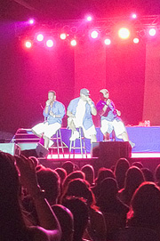 Boyz II Men concert at the San Mateo County Fair