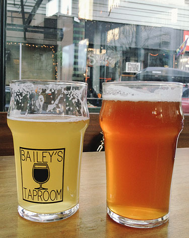 Bailey's Taproom Beer, Portland, OR