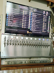 All beers on tap