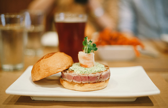 Date idea for lunch or dinner at Umami Burger San Francisco