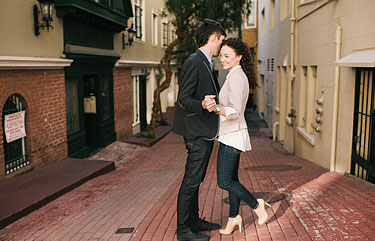 Editorial photography in San Francisco - Dan and Sarah
