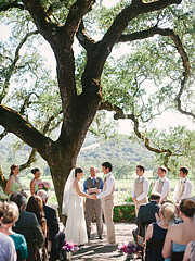 Ceremony at Beltane Ranch.