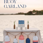 Nautical Wedding Buoy Garland