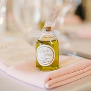Greek olive oil as a wedding favor