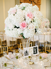 Wedding florals by Julie Snead. Wedding at Marines' Memorial Club