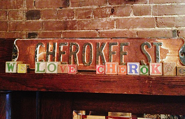 We love Cherokee