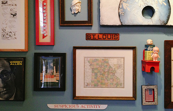 Stuff on the walls