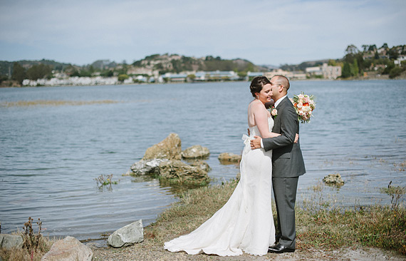 Bride and groom photos in Mill Valley, CA