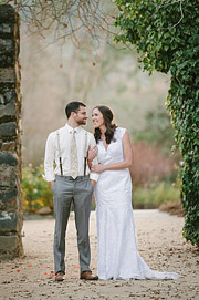 Just married at Annadel Estate Winery