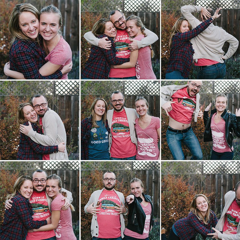 Family Christmas Photoshoot