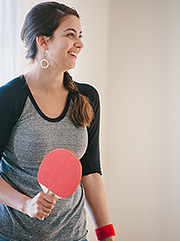 Ping pong at home - date idea