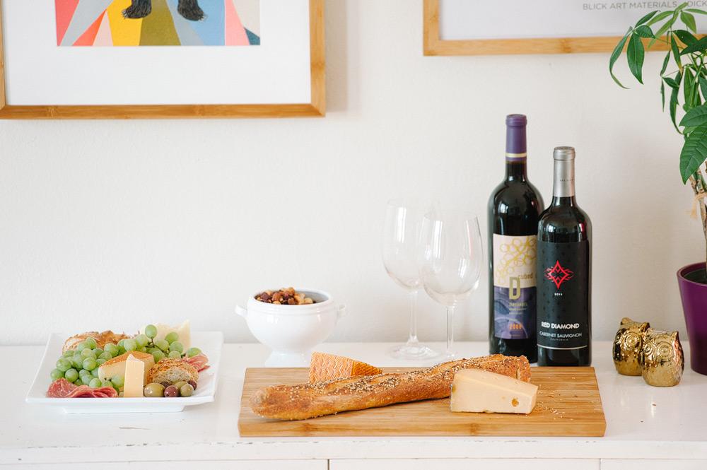 Date Idea: Wine & Cheese Night At Home -Pictilio