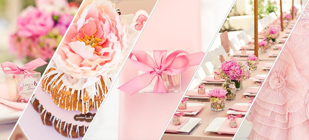Pink Bridal Shower Details
