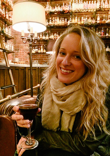 Date night at Multnomah Whiskey Library in Portland, OR