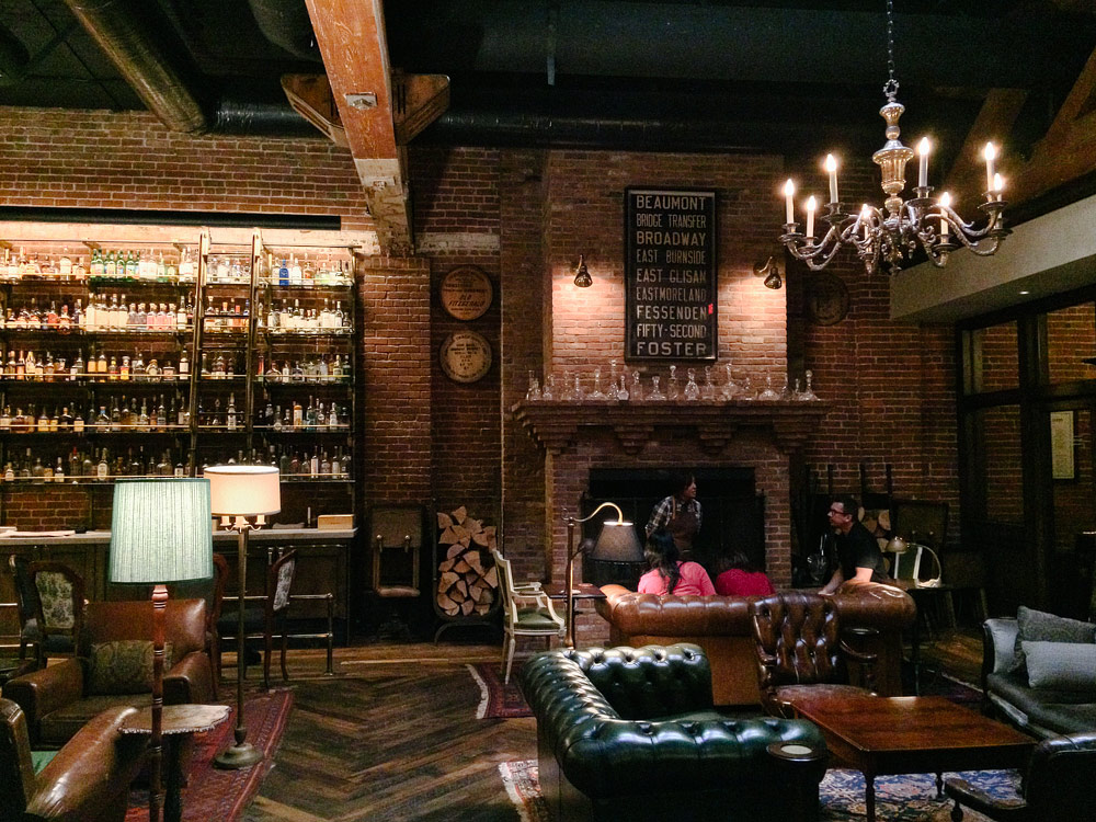 Multnomah Whiskey Library The Perfect Manly Date Idea -Pictilio