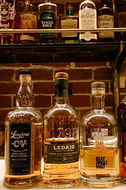 Multnomah Whiskey Library in Portland. OR