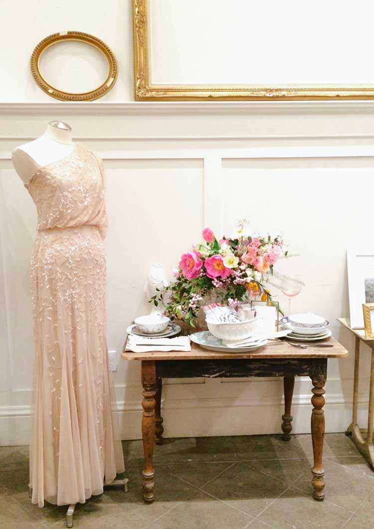BHLDN Pop Up Shop at Firehouse 8 in San Francisco