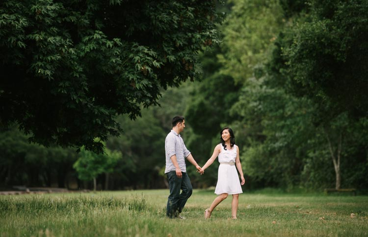 Lifestyle engagement photos in Palo Alto