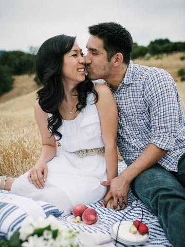 Fun lifestyle engagement photos in Palo Alto