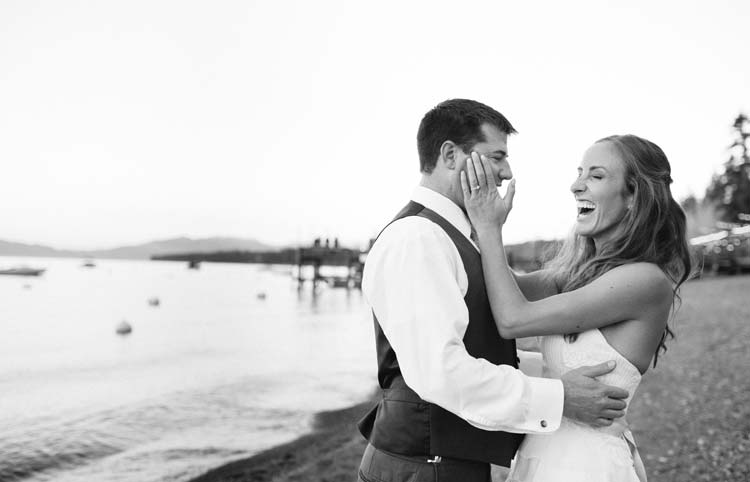 Wedding photography at West Shore Cafe in Lake Tahoe