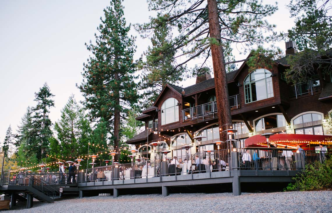 West Shore Cafe and Inn Wedding Reception in Lake Tahoe