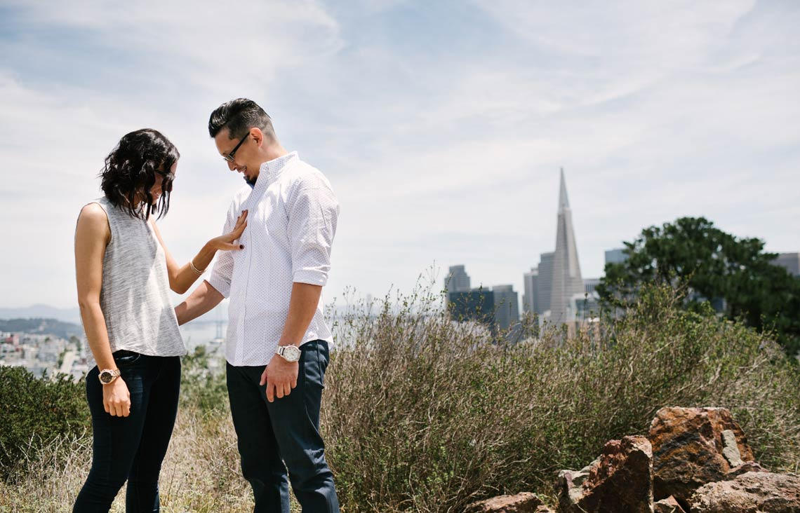 Real San Francisco Engagement