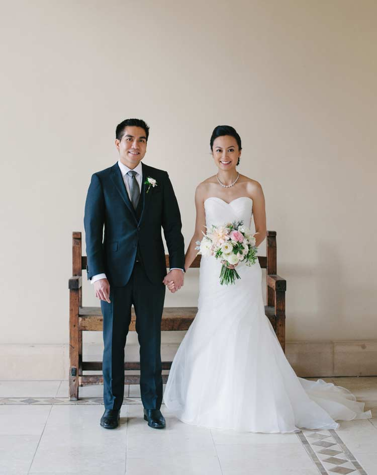 Portrait of Bride and Groom. Ruby Hill Golf Club photographer.