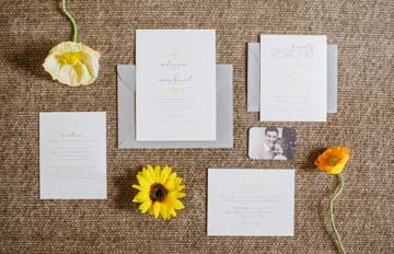 Wedding details: invitation, RSVP, etc.