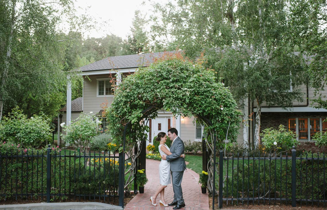 Backyard Nuptials in San Francisco at Private residence