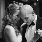 Bride and groom dancing at Westin St. Francis