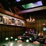 Interior of Multnomah Whiskey Library
